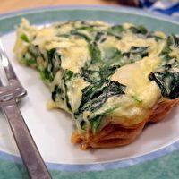 Kale Crustless Quiche by Tabetha