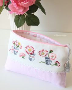 Cross stitch bag - İlknur Alaçam