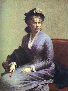 Henri Fantin-Latour - Portrait de Charlotte Dubourg (1882)