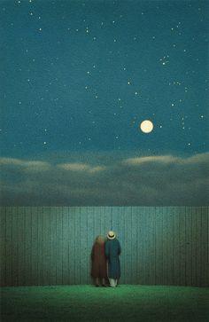 """Ueber den Himmel"" [Over the Heavens] by Quint Buchholz, 1993"