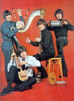The Beatles. Why do I love this pic?