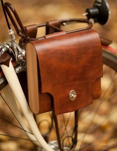 Beautiful bike bag