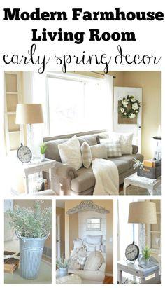 42 Awesome Farmhouse Glam Living Room Design Ideas