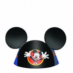 Disney Mickey Ears Die-Cut Cone Hats