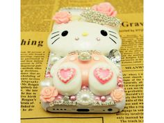 #Lovely Pink #Kitty iPhone #5C Case