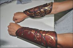 Hey, I found this really awesome Etsy listing at https://www.etsy.com/listing/172845585/legolas-mirkwood-leather-bracers-the