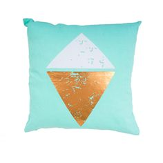 Diamond Foil Cushions - Bed Bath & Beyond