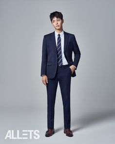 Park Bo Gum Trades Crown Prince Gear for Perfectly Tailored Suits in New Allets CF | A Koala's Playground