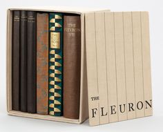 Collected volumes of the Fleuron (missing vol.3)