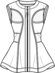 Image result for fashion tech sketches