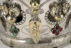 Digitalt Museum - Krone Bridal Crown, Folklore, Crowns, Museum, Wedding, Beautiful, Jewelry, Valentines Day Weddings, Jewellery Making