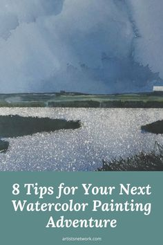 """🎨 Looking for your next watercolor adventure? Here are Gordon MacKenzie's 8 tips for exploring all the possibilities of your next painting. Pictured here: """"Prairie Slough"""" (watercolor) by Gordon MacKenzie Collage Artwork, Mixed Media Collage, Watercolor Painting Techniques, Watercolor Paintings, Watercolor Pictures, Great Paintings, Online Gallery, Famous Artists, Medium Art"""