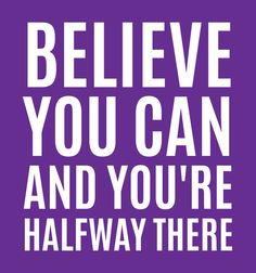 Poster | BELIEVE YOU CAN AND YOU'… von CreativeAngel