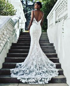 33 Mermaid Wedding Dresses For Wedding Party Sexy mermaid lace open back wedding dress. Find more: weddingdressesgui. 33 Mermaid Wedding Dresses For Wedding Party Sexy mermaid lace open back wedding dress. Find more: weddingdressesgui… Beautiful Wedding Gowns, Dream Wedding Dresses, Bridal Dresses, Bridesmaid Dresses, Wedding Dress Lace, Fitted Wedding Dresses, Brides Dresses Lace, Form Fitting Wedding Dresses, Designer Wedding Dresses