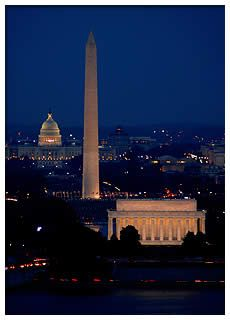 D.C. - I've been there once and loved it. The city lights at night are stunning. Hoping to go back one day.