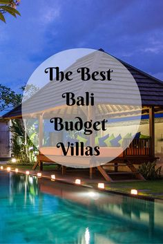 If you think staying in a private villa in Bali is expensive, let us enlighten you with the best Bali budget villas that won't burn a hole in your pocket. alles für Ihren Stil - www. Bali Travel Guide, Asia Travel, Budget Travel, Cheap Travel, Travel Tips, Vietnam Travel, Travel Hacks, Travel Essentials, Vacation Destinations