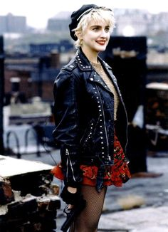 """Madonna """"Who's That Girl?"""". I love love her music..."""