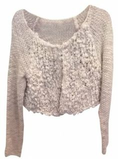 Free people sweater––great texture, flirty length, and an interesting neutral tone. #Free #People #Sweater #Tradesy $59