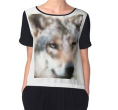 'Realistischer Wolf' by Wolfteamshop Wolf, Beautiful Wolves, Tank Man, Mens Tops, Stuff To Buy, Shirts, Shopping, Fashion, Woman