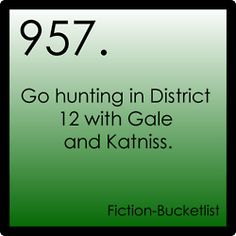 Fiction-Bucketlist: Archive  Hunger Games