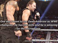 Dean Ambrose 4 WWE Champion