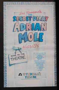 The secret diary of Adrian Mole, aged 12 3/4s - Wyndham Theatre