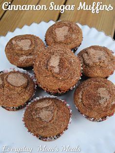 Everyday Mom's Meals: Welcome September Cinnamon Sugar Muffins, Welcome September, Bread And Pastries, Dessert Recipes, Desserts, Cupcake Cakes, Cupcakes, Fall Recipes, Cooking Recipes