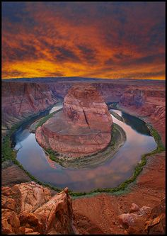Colorado River at Horseshoe Bend, Glen Canyon National Recreation Area, Arizona | Peiker, NaturePhotographer via Bing
