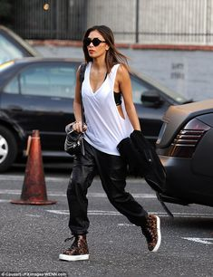 Doing the rounds: Nicole Scherzinger was seen arriving at the Dancing With The Stars studios in Los Angeles to rehearse for her special guest performance