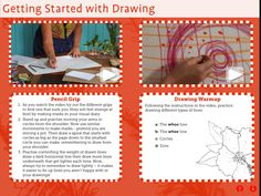Botanics: Drawing  app includes teaching artists Lee Fullarton and Miranda Free demonstrating art practices for children to experience and explore.