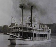 ride a steamboat down the Mississippi River
