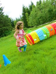 {Build & Play Obstacle Course} Get your little one on the move.