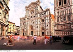 Cathedral square, Florence, Italy