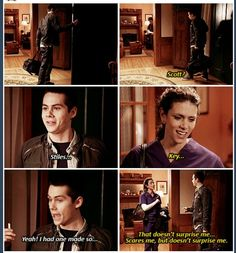 Mrs. McCall and Stiles