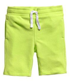 highlighter sweatshorts