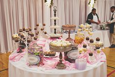 Our dessert table with our favorite cupcakes and favorite treats. 10-08-11 <3