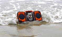 Grace Digital GDI-AQ2SI61 ECOXGEAR Rugged and Waterproof Stereo Boombox If you want to take your music with you wherever you go, then Grace Digital's Eco Extreme Gear line of products is the choice for you. Strap in your iPhone, Android, Samsung Galaxy 2S/3S, any MP3 player or smartphone behind the 100% waterproof clear shell and turn up the volume. The ECOTERRA houses and protects any cell phone or MP3 player from the extremes of water, dirt, snow, and shock.  www.BuyItHere-Now.com