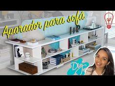 Mesa de parede: Como fazer uma mesa de craft - DIY - YouTube