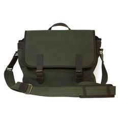 Messenger Bag Moss by  United By Blue