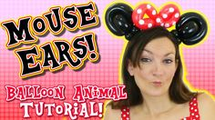 Make your own Mouse Ears - Easy Balloon Animal Tutorial with Holly Hopper Minnie Mouse Balloons, Disney Balloons, Minnie Mouse Party, Baby Name Tattoos, Tattoos With Kids Names, Son Tattoos, Family Tattoos, Print Tattoos, Easy Balloon Animals
