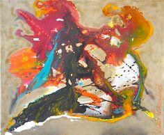 GOLDEN Acrílico sobre Tela Algodão/ Acrylic ink on canvas 120larg x100alt / 120width x 100height