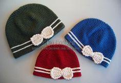 Make It Crochet | Your Daily Dose of Crochet Beauty | Free Crochet Pattern: Bow Hat