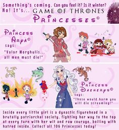 Game of Thrones: Princesses