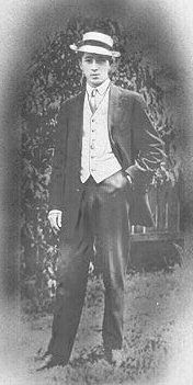 Henry Sutehall Jr. was born 1886, England & the Sutehall family emigrated to Buffalo, New York.  In 1910 Henry & his friend Howard A. Irwin embarked on a world tour. They parted company when they left Australia & vowed to meet again in 1912 to conclude the voyage home on Titanic. The night before the Titanic sailed, having deposited their luggage on board, Howard went drinking & did not sail on the Titanic. Henry died in the sinking, his body, if recovered, was never identified.