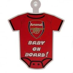 #Official football club window #suction sucker baby on #board sign xmas gift,  View more on the LINK: 	http://www.zeppy.io/product/gb/2/221879009576/