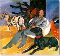 Portrait of Pieridis - Dimitris Mytaras Modern Art, Contemporary Art, Greece Painting, Social Art, Painter Artist, 10 Picture, Greek Art, Art Database, Conceptual Art