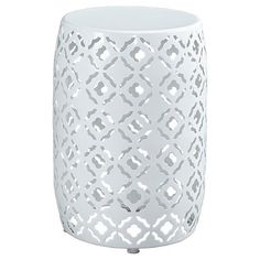 Marxim Round End Table - White - Signature Design by Ashley : Target