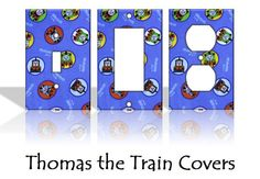 Thomas the Train Light Switch Covers Wallplates Switchplates Home Decor Outlet 14 STYLES AVAILABLE