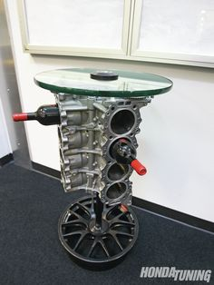 Honda Performance Development Facility Block Table Large
