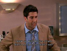Ross is my favorite